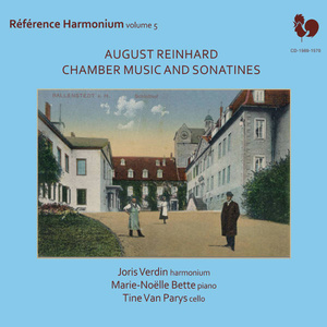 "A. Reinhard: ""Chamber Music and Sonatines"" - Cover"